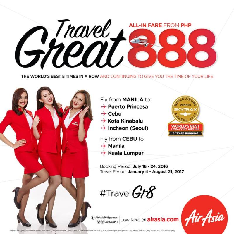 heyjaey airasia 888 Photo (c) Air Asia
