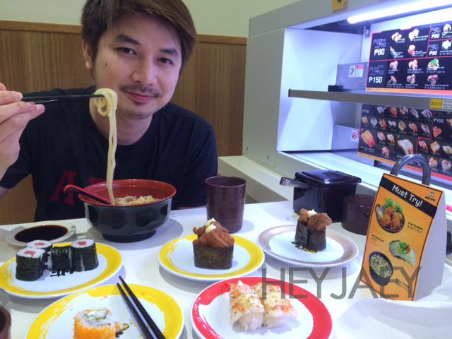 noodles at genki sushi
