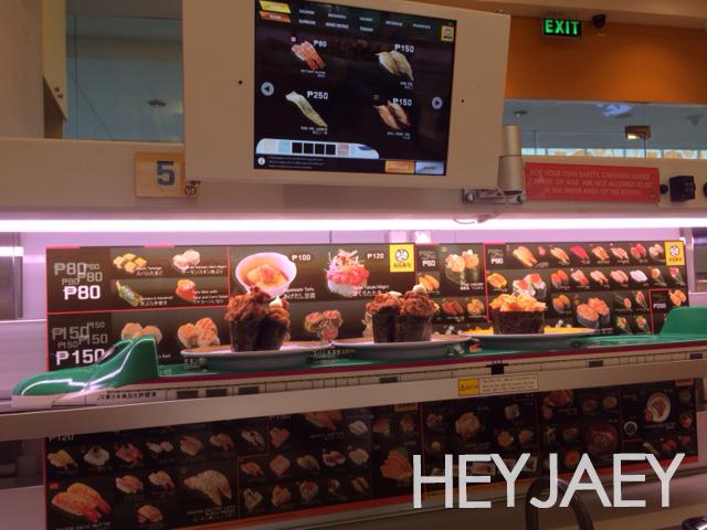 hey jaey - conveyor belt sushi