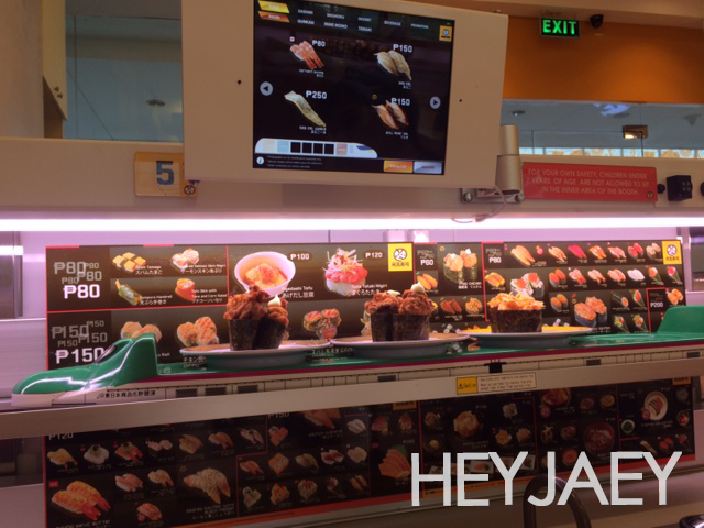hey jaey - conveyor belt sushi