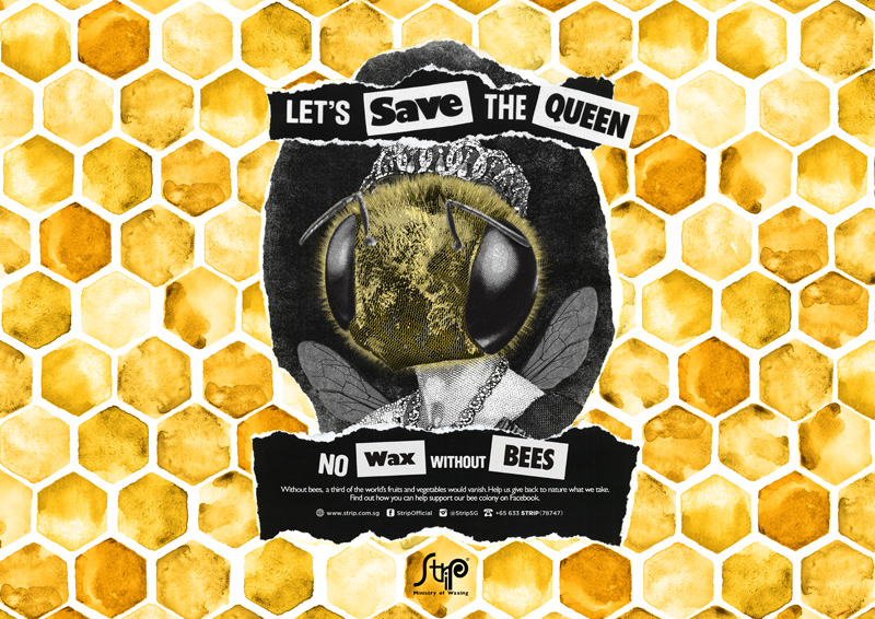 heyjaey strip manila save the bees queen photo (c) strip sg