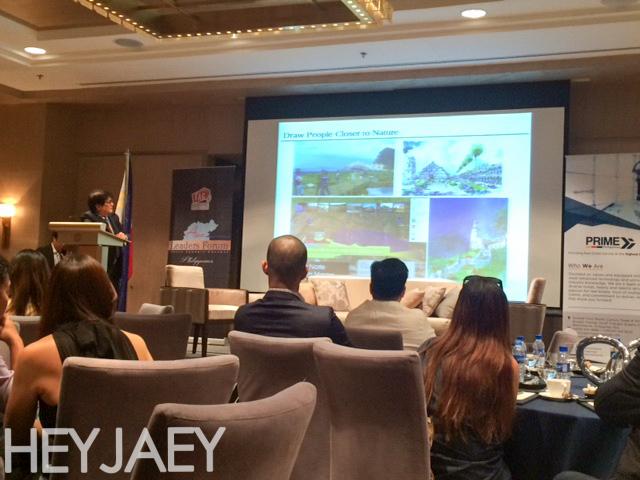 heyjaey Palafox at the Asia Leaders Forum