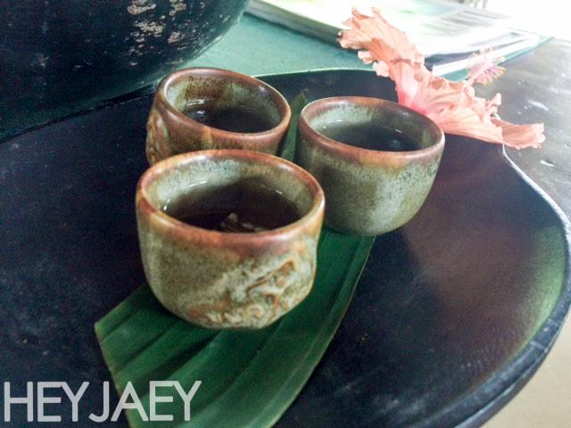 heyjaey nurture wellness village welcome tea