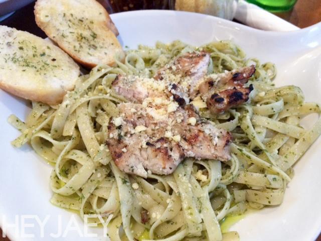 Pesto Pasta at Comfort Tuesdays