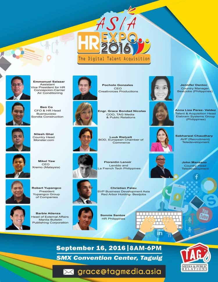 asia hr expo 2016 poster