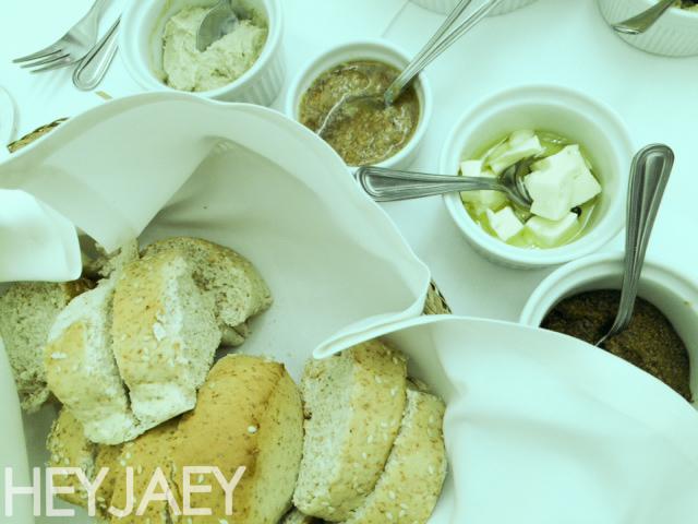 heyjaey sonya's garden bread and dips