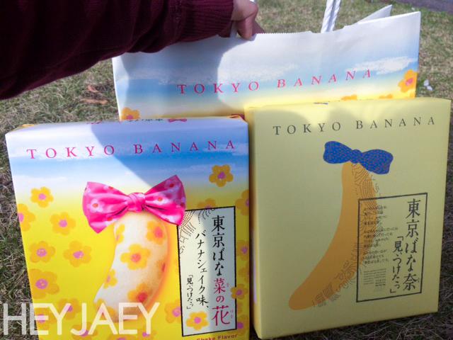 tokyo banana for hanami picnic