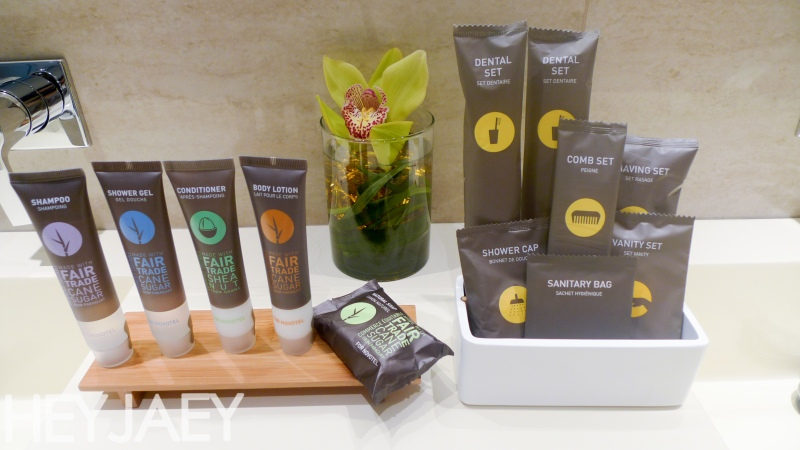 novotel araneta manila executive suite toiletries