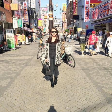 Rebecca Del rosario on travel and fashion