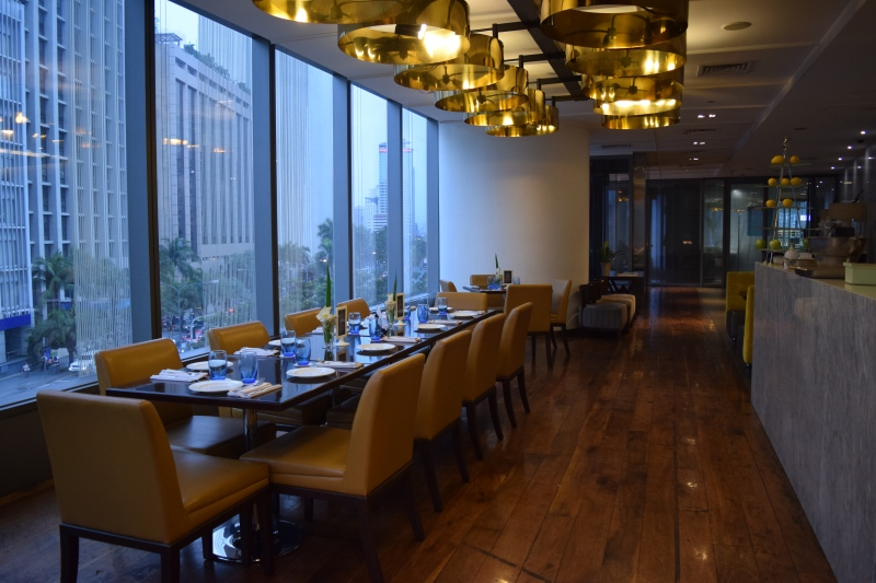Terraz Zuellig Building Review Raintree Restaurants