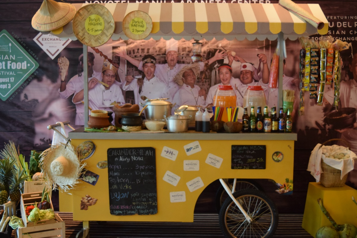 Asian Street Food Festival now at Novotel Manila