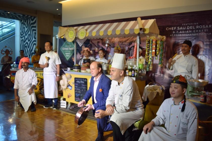 Novotel Manila Chef with Chef Sau Del Rosario
