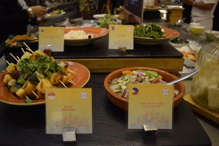 Asian Food at Food Exchange Manila Novotel