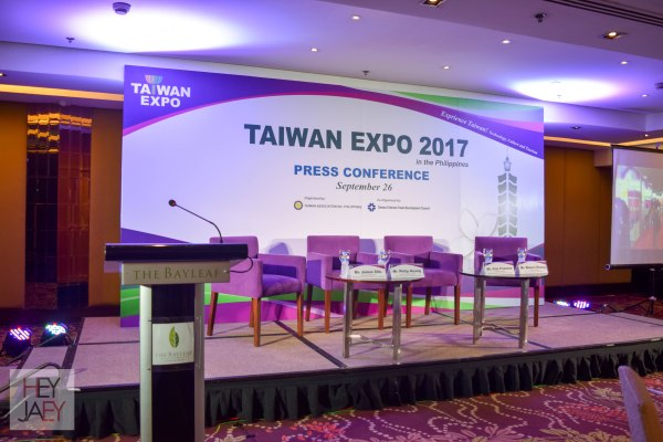 Taiwan Expo 2017 Press Conference