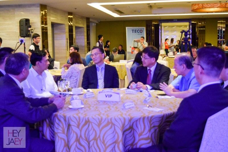 VIP Table at Taiwan Expo 2017 Press Conference