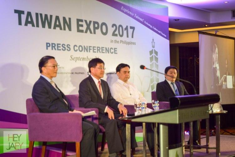 VIPs at Taiwan Expo 2017 Presscon