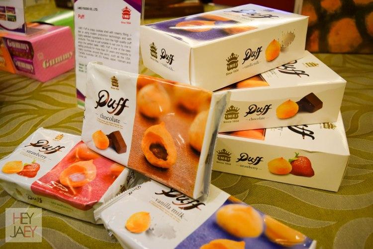 Puff Chocolate at Taiwan Expo 2017