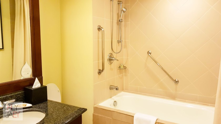 Ascott Makati Studio Deluxe King Bathroom