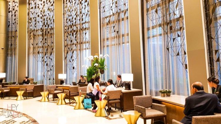 Ascott Makati Lobby