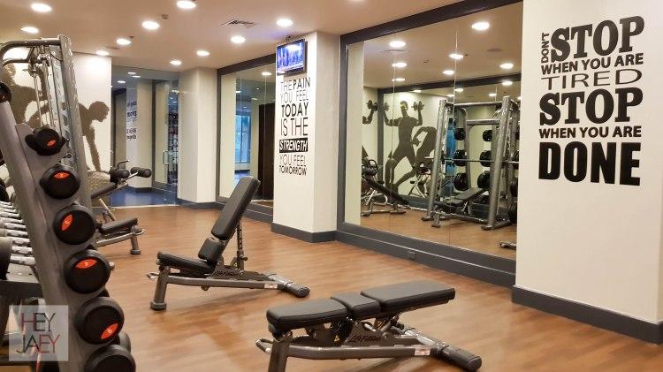 Ascott Makati Gym Facility