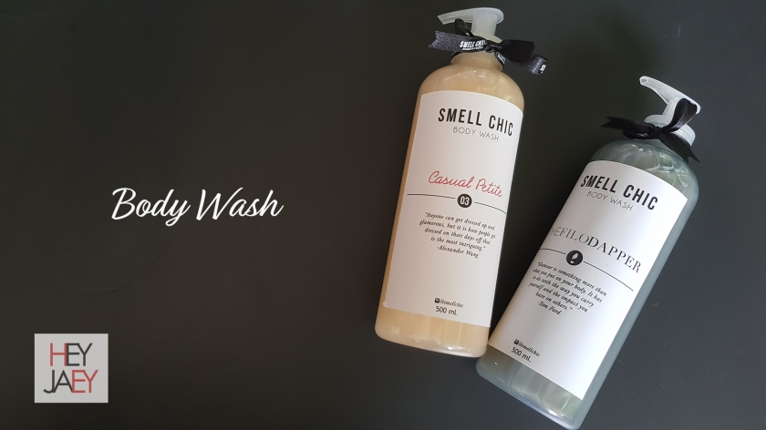 Smell Chic Review Body Wash