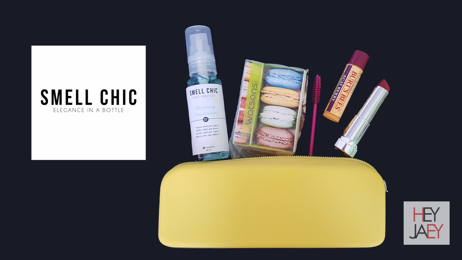 Smell Chic Review Flatlay