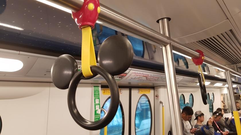 Disney Train Hong Kong
