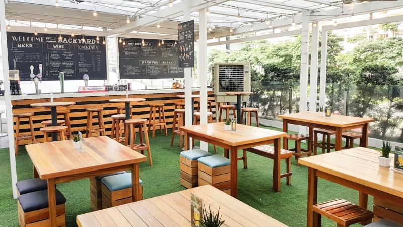 Providore Al Fresco Outdoor dining SM Aura