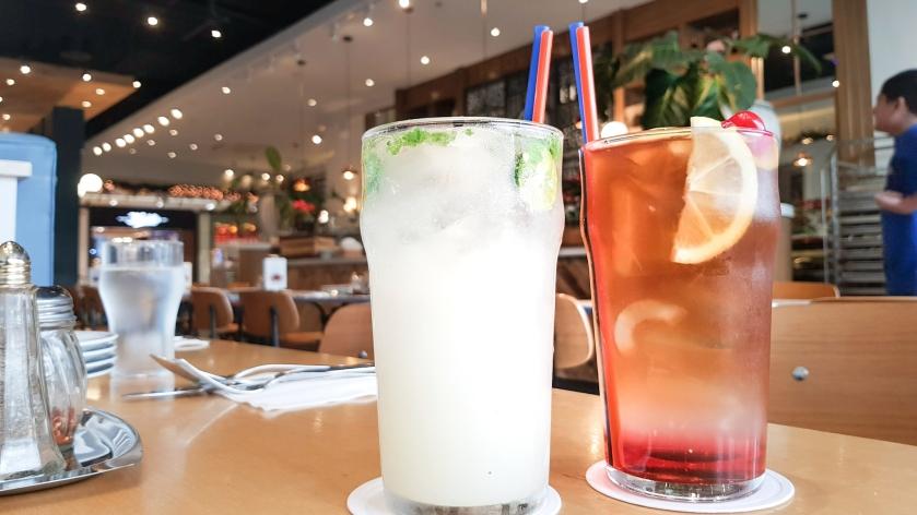 Drinks at Providore SM Aura
