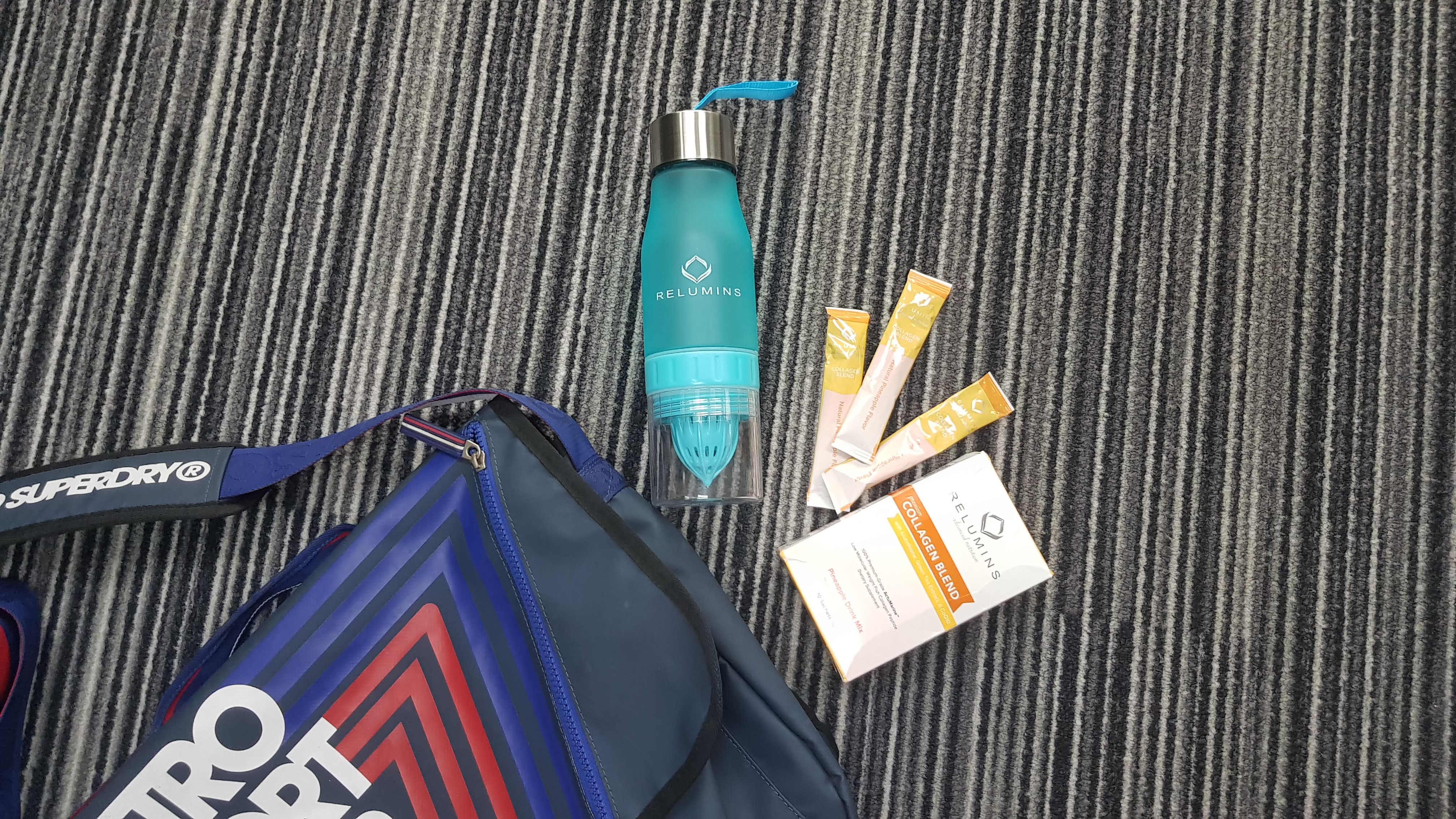 Beauty on the go with Relumins