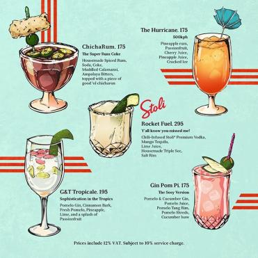 coconut club menu 1