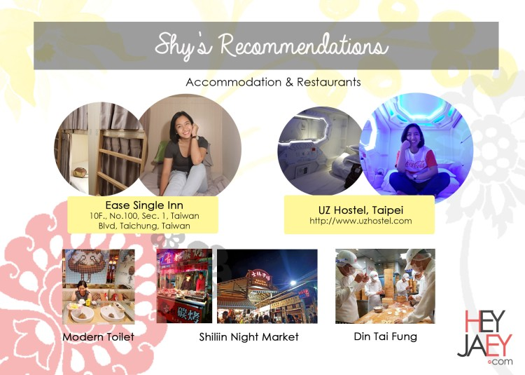 shy recommendations